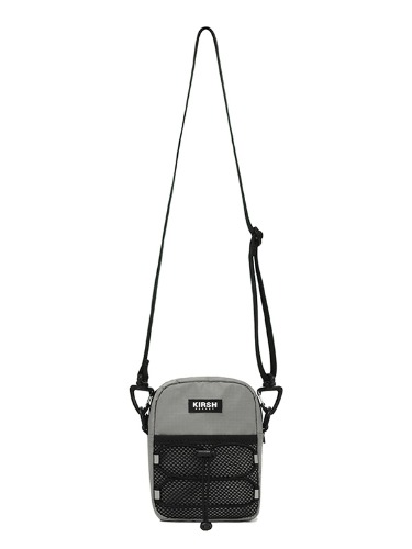 KIRSH POCKET STRING CROSSBAG JS [LIGHT GRAY]