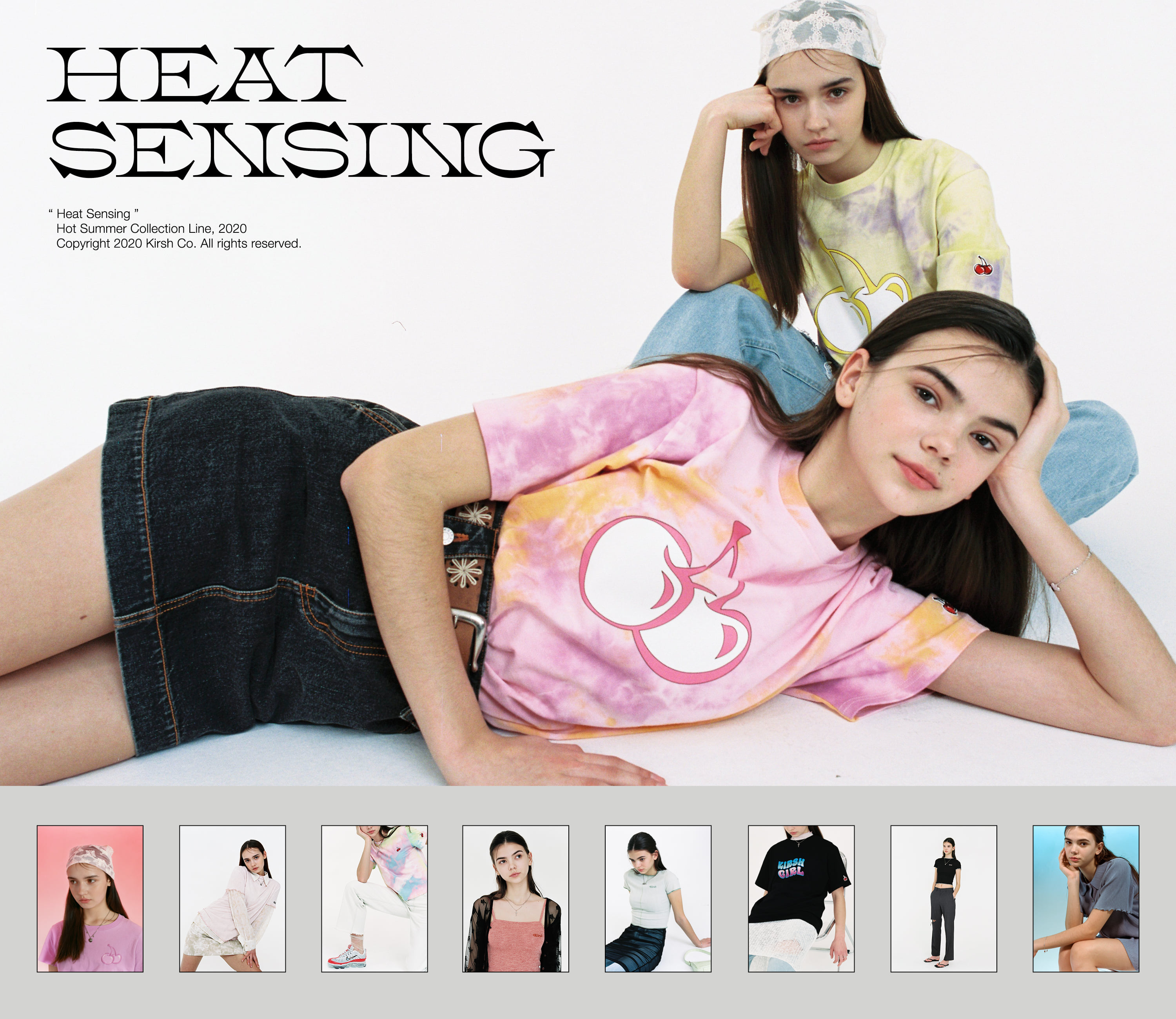 "20HS COLLECTION ""HEAT SENSING !"""