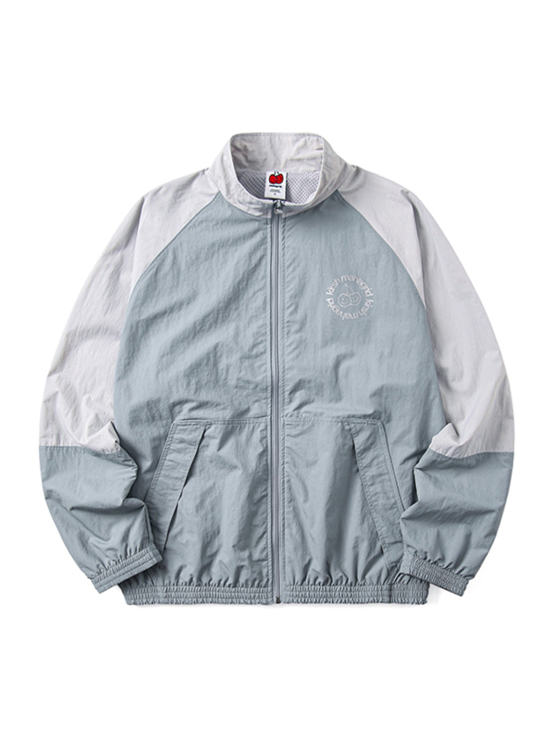 KIRSH X MAHAGRID TRACK JACKET [BLUE]
