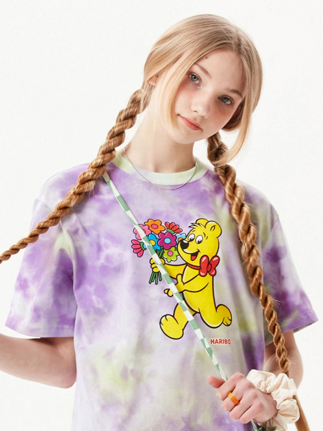 (4월 16일 예약발송)HARIBO TIE DYE T-SHIRT [PURPLE]